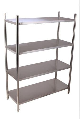 Empire 4 Tier Stainless Steel Shelf Rack 1500mm - EMP-SR15050B2-1